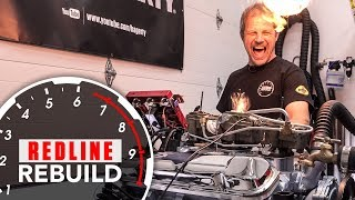 Download V-8 Engine Rebuild Time-lapse Pontiac GTO Tri-Power 389 | Redline Rebuild - S2E4 Video