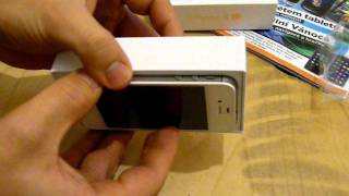Download Apple iPhone 4s 64GB White - rozbalení CZ - unpacking Video