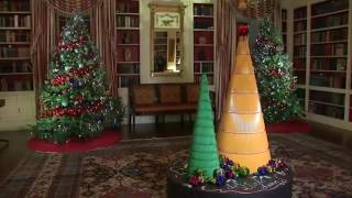 Download Michelle Obama Shows Off Final WH Holiday Decor Video