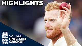 Download Stokes Takes 6-22 As Wickets Tumble On Both Sides - England v West Indies 3rd Test Day 1 2017 Video