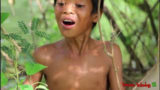 Download Primitive Technology - Eating delicious - Cooking fish recipe Video