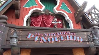 Download Les Voyages de Pinocchio at Disneyland Paris - Full Ride-Through Experience HD Oct 2014 Video
