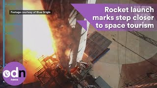 Download Rocket launch marks step closer to space tourism Video