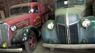 Download A farmer's collection of cool barn find cars and trucks Video