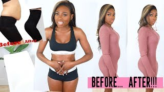 Download IS IT A MIRACLE OR A SCAM? TRYING ON £200 SHAPEWEAR MY STOMACH BETTER BE FLAT FLAT! Video