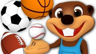 Download Kids Go Play | Busy Beavers Play with Sport Balls, Children's Outdoor Activities, Video for Toddlers Video