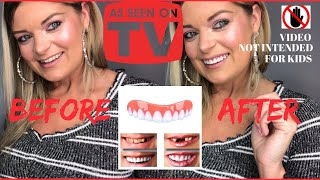 Download The REAL Perfect Instant Smile Press On Veneers Demo & Review Video