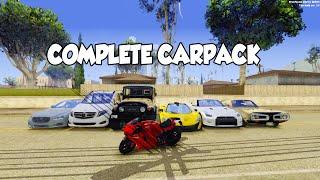 Download [DL] Complete CarPack [AD] [IVF] [GTA SA] 1080p Video