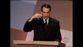 Download Michael ″Mike″ Krzyzewski's Basketball Hall of Fame Enshrinement Speech Video