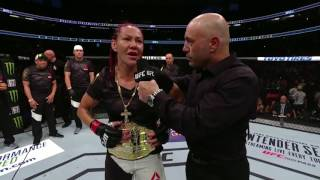 Download UFC 214: Cris Cyborg Octagon Interview Video