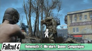 Download Fallout 4 - Behemoth & Mirelurk Queen Companions Video