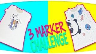 3 Marker Challenge Lol Bebek Boyama Ve Lol Pets Boyama Oyunu