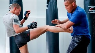Download Rose Namajunas Open Workout (With Pat Barry) - MMA Fighting Video