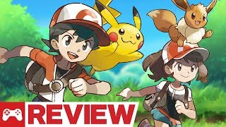 Download Pokemon: Let's Go, Pikachu and Eevee Review Video