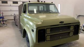 Download 1969 Chevrolet ramp truck c50 Video