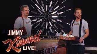 Download ″Knife Guys″ Will Ferrell and Ryan Gosling Video