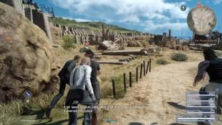 Download Final Fantasy XV playthrough pt12 - Into the Tombs! 1st Dungeon Exploration Video