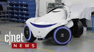 Download This security robot can detect weapons (CNET News) Video