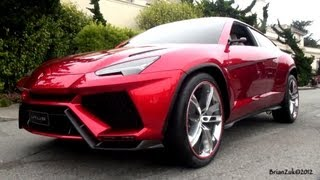 Download Lamborghini Urus On The Road Video