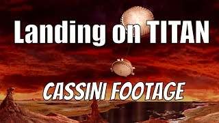 Download Titan Landing - REAL FOOTAGE - Cassini–Huygens Video