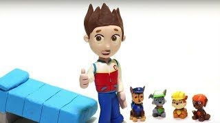 Download Ryder needs Paw patrol friends 💕 Play Doh Stop motion videos for children Video