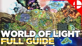 Download World of Light Character Locations & Guide - Smash Ultimate Video
