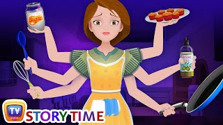 Download The Hardworking Mother - Good Habits Bedtime Stories & Moral Stories for Kids - ChuChu TV Video