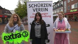 Download Caro Korneli: Frauen gegen Gleichbehandlung | extra 3 | NDR Video