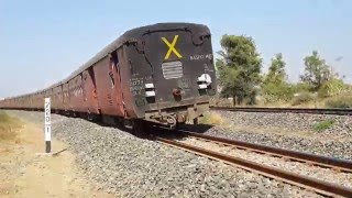 Download CROSSING OF BROAD GAUGE AND METER GAUGE!! Video