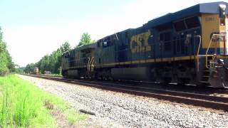 Download CSX Q025 Traction Motor Fire at Folkston, Ga. on June 15, 2012 Video