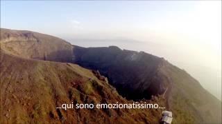 Download Vesuvio cratere Torre del Greco vista aerea con drone Phantom 2 FPV Video