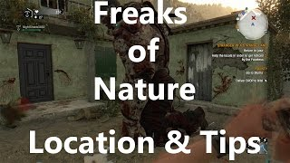 Download Location for All (That I Have Found) Freaks of Nature Zombies - Dying Light: The Following Video