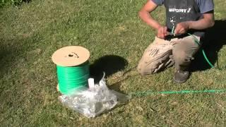 Download Realizando el empalme del cable a la bomba.MTS Video