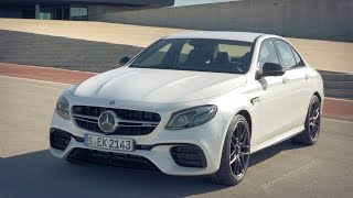 Download 2017 Mercedes E 63 S AMG 4MATIC+ 612 HP Designo Diamond White Bright Video