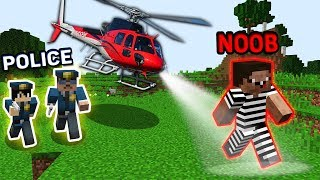 Download Minecraft CRIMINAL NOOB vs POLICE : CRIMINAL HIDING FROM POLICE ! Challenge IN MINECRAFT Animation Video