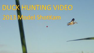 Download Duck Hunting Captured by ShotKam – Our Video Camera is Mounted to the Gun Barrel (100% Waterproof) Video