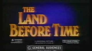 Download 80's TV spot for The Land Before Time Video