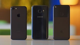 Download Pixel vs iPhone 7 vs Galaxy S7 — что купить? Video