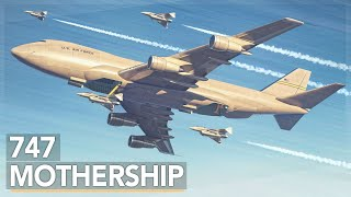 Download The Air Force's Crazy 747 Aircraft Carrier Concept Video