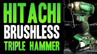 Download Hitachi Triple Hammer 18v Brushless Impact Driver WH18DBDL2 Video