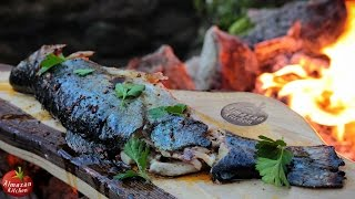 Download BEST FISH ON STICK! + Chili Oil - Cooking in the Forest Video