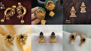 Download Daily wear simple gold earrings design ideas/pure gold earrings design ideas/simple earrings Video