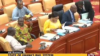 Download State Of Ghana's Rail System - AM Business on JoyNews (25-7-18) Video