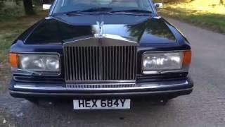 Download 1983 ROLLS-ROYCE SILVER SPIRIT BLACK 6.75 V8 VIDEO REVIEW Video