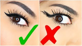 Download 9 EASY EYELINER HACKS For Perfect Winged Eyeliner! Video