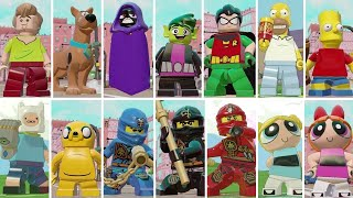 Download All Playable Cartoon Characters in LEGO Dimensions Video