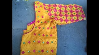 Download latest kutch work blouses Video