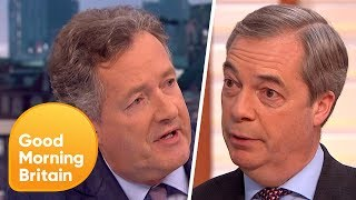 Download Nigel Farage and Piers Morgan Passionately Defend Donald Trump's State Visit | Good Morning Britain Video