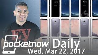 Download Samsung Galaxy S8 unique display, OnePlus 3T Midnight Black & more - Pocketnow Daily Video
