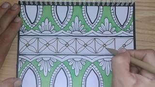 Cara Menggambar Sketsa Motif Batik Sketsa 18 Free Download Video